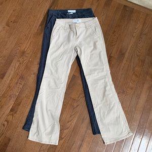 2 pair Aeropostale pants